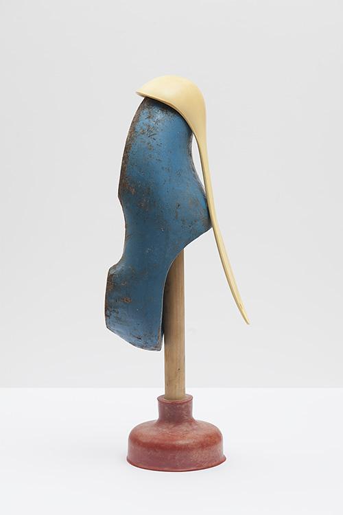 Hans van Asch Gekunsteld werk tijdelijke sculpturen Red Yellow and Blue