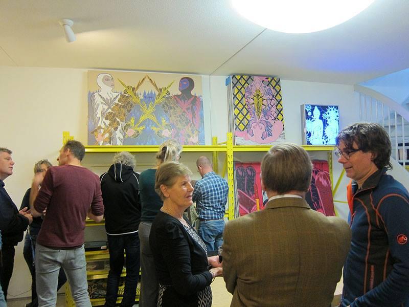 Expositie Grafic Art Room Rode kool met bloedworst Hans van Asch Henri van Nuenen
