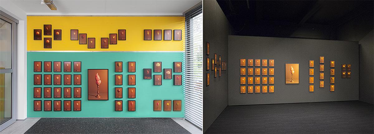 Hans van Asch Gexpositie Grafic Art Room en YKS IEXPO Eindhoven