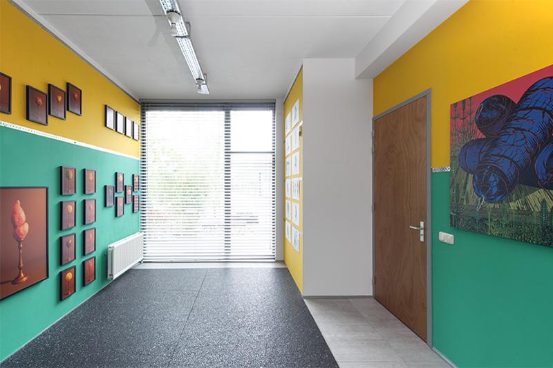 Grafic Art Room expositie Rode kool met bloedworst Hans van Asch en Henri van Nuenen